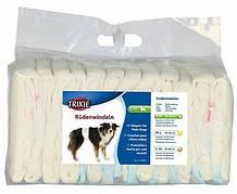 Trixie Памперси Гігієнічні підгузники для псів S-M 30-46 см 12шт
