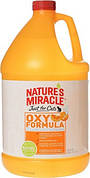 8in1 Nature's Miracle Orange Oxy Устранитель пятен и запахов от кошек 3,7 л