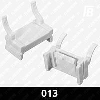 Адаптеры 013 (переходники, крепления) для ксеноновых (HID) ламп, H7, 2 шт.