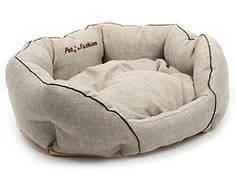 Лежак для собак і кішок Кантрі колекція Pet Fashion, 60х46х22 см