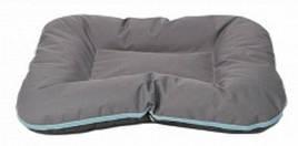 Лежак для собак двосторонній Arnold Comfy, XL 90х70 см, графіт-сірий
