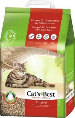 Cat's Best Eko Plus (Original) Древесный наполнитель для кошек 4,3 кг