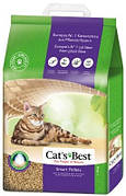 Cat's Best Smart Pellets Древесный наполнитель Кет Бест для кошек 5 кг