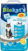 Наполнитель для кота Biokat`s Fresh Cotton 3in1 с ароматом хлопка 5 кг