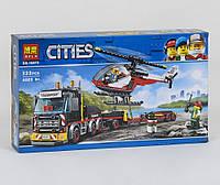 Конструктор Cities Перевозка тяжелых грузов 322 деталей