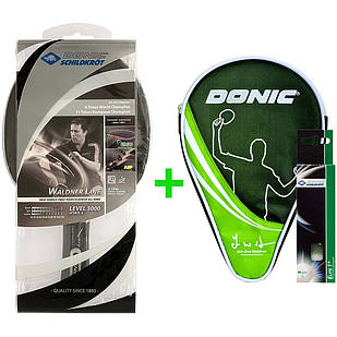 Набір для настільного тенісу Donic Waldner 3000 751803 (9471)