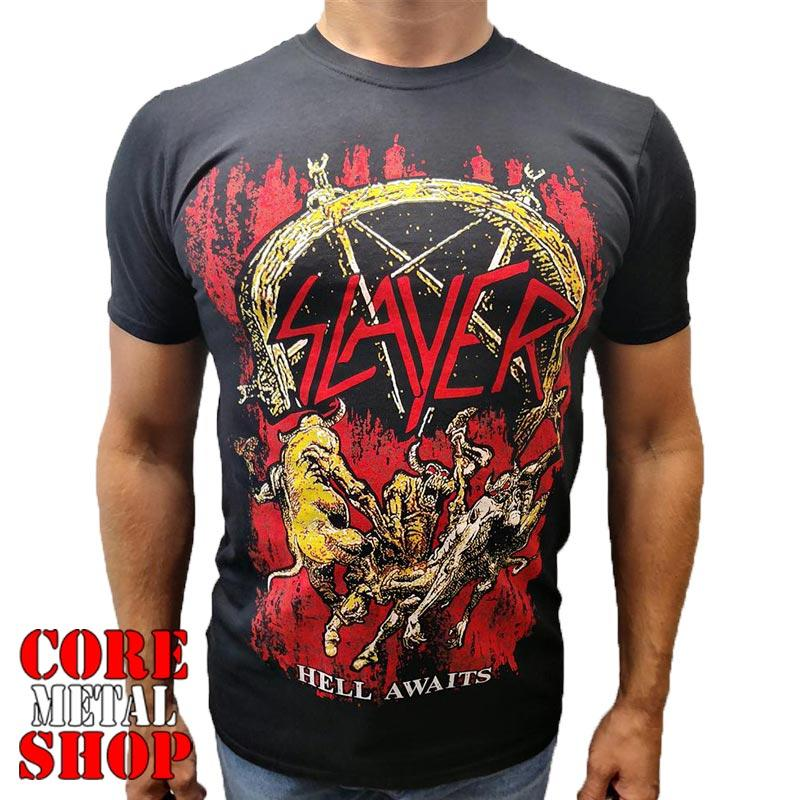 Футболка Slayer - Hell Awaits