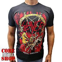 Футболка Slayer - Hell Awaits, фото 1