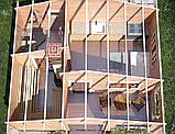 Баня деревянная из профилированного бруса 6х5, фото 3
