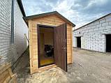 Деревянная мобильная баня 6х2,4 м под ключ, фото 3