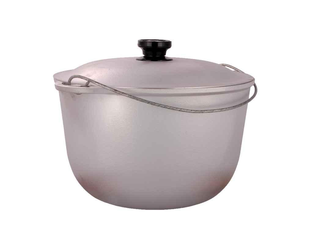 Казан кухонно-туристический Дако алюминиевый 8,5 литров (Кт 850)