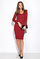 Платье 110P500 (Бордовый), фото 1