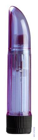 Вибратор Массажер Crystal Clear Lavender Ladyfinger 11,5см. оргазм гарантирован 100%