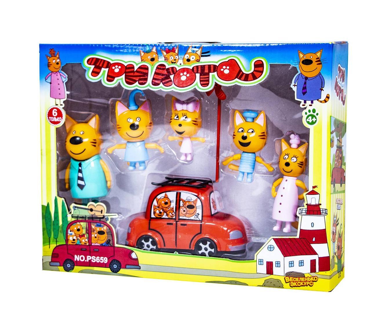 Игровой набор Три Кота