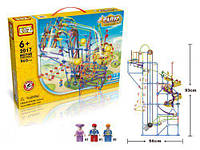 Электромеханический конструктор Парк развлечений, LoZ ,902 детали