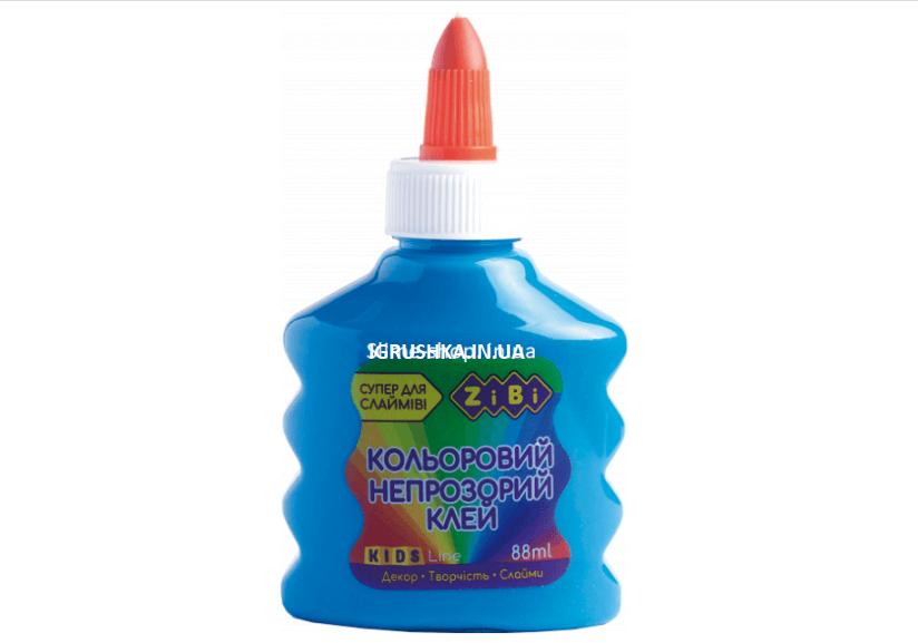 Клей для слайма Zibi непрозрачный синий