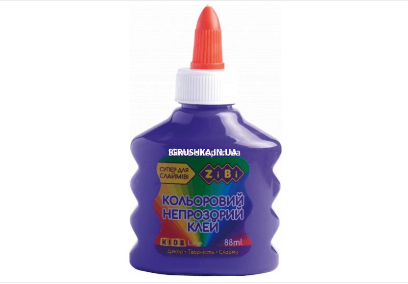 Клей для слайма Zibi непрозрачный фиолетовый