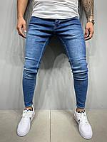 Мужские джинсы молодежные узкие Турция СММ 5577