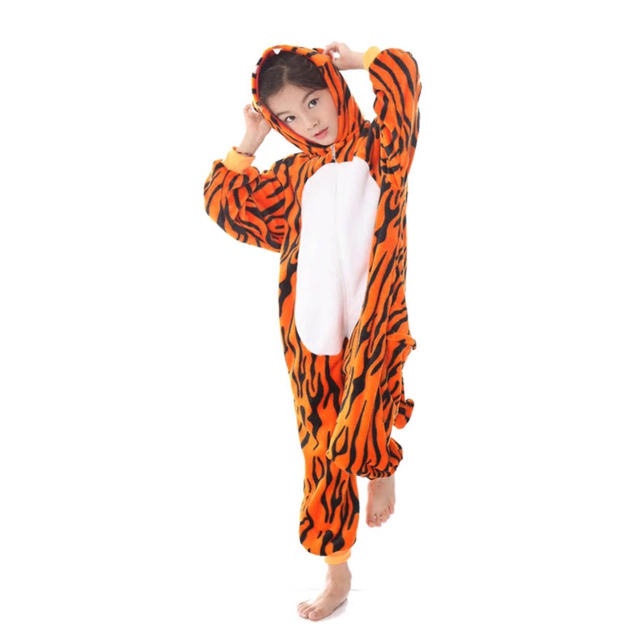 Пижама кигуруми Тигренок цельная детская пижама комбинезон кигуруми