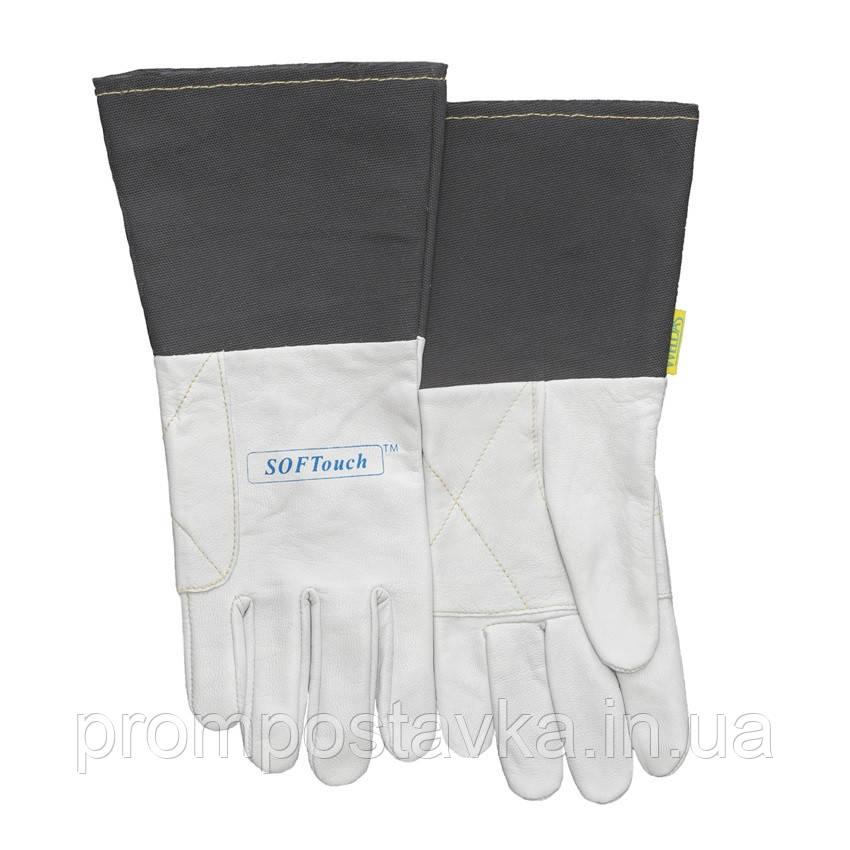 Перчатки сварщика TIG, XL