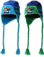 Шапки-ушанки для мальчиков Turtles, фото 1