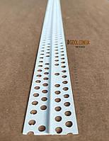 Маяк штукатурный пластиковый высота 8 мм. Рейка маячная ПВХ 3 м.п длина