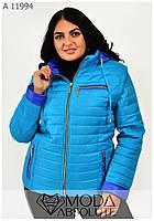 Женская осенняя куртка на все случаи жизни размеры 42-66, фото 1
