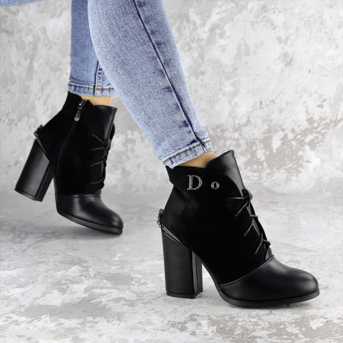 Ботинки женские черные Salena 2228 (37 размер)