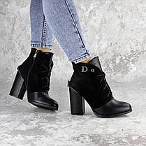 Ботинки женские черные Salena 2228 (37 размер), фото 3