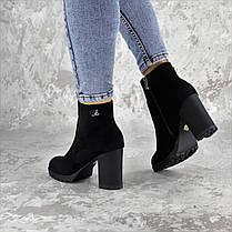 Ботинки женские Fashion Skid 2232 36 размер 23,5 см Черный, фото 3