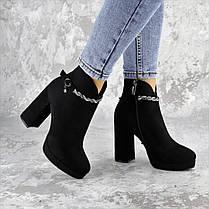 Ботинки женские Fashion Susan 2220 35 размер 23 см Черный, фото 3