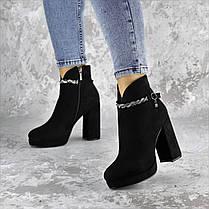 Ботинки женские Fashion Susan 2220 35 размер 23 см Черный, фото 2