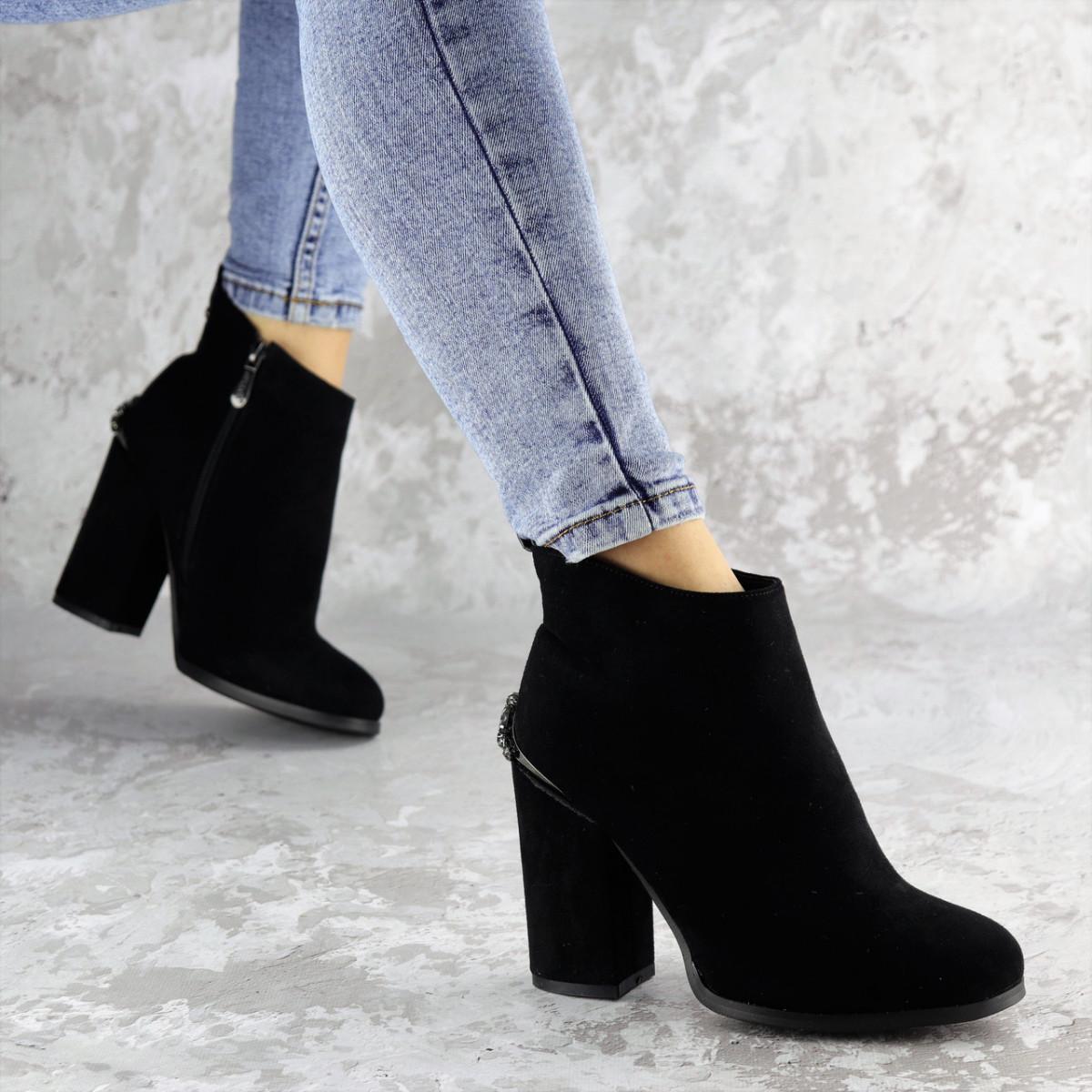Ботинки женские черные Tigy 2230 (36 размер)