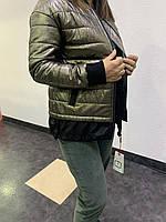 Куртка-бомбер молодежная женская Vo-tarun S, M,L,XL