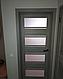 """Дверь межкомнатная остеклённая новый стиль Мода """"Элиза BLK,G"""" 60-90 см дуб дымчатый, фото 7"""