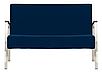 Диван для зон ожидания Incanto Duo chrome Новый Стиль, фото 2