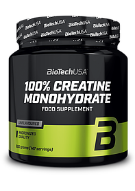 Креатин BioTech 100% Creatine Monohydrate банку (500 г) биотеч unflavored