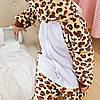 Детская пижама кигуруми с леопардом цельная детская пижама комбинезон кигуруми, размер 140, фото 2