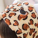 Детская пижама кигуруми с леопардом цельная детская пижама комбинезон кигуруми, фото 3