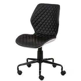 Крісло офісне Ray чорне для персоналу