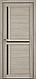 """Двері засклені міжкімнатні новий стиль Мода """"Трініті BLK,G"""" 60-90 см ясен патина, фото 4"""