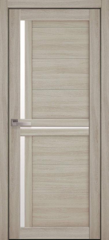 """Двері засклені міжкімнатні новий стиль Мода """"Трініті BLK,G"""" 60-90 см ясен патина"""