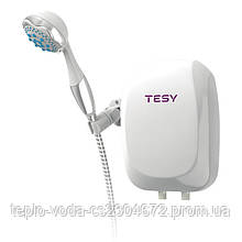 Проточный водонагреватель Tesy с душем 5 кВт