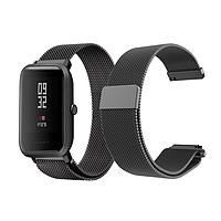 Ремешок BeWatch миланская петля для Xiaomi Amazfit BIP Черный 1010201, КОД: 179489, фото 1