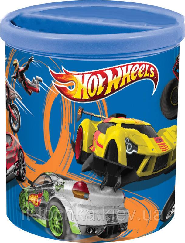 Стакан подставка kite hw15-106k круглая hot wheels
