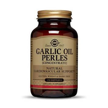 Экстракт чесночного масла Solgar Garlic Oil Perles Concentrate (250 sgels)