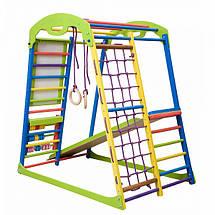 Детский спортивный комплекс для дома SportWood Plus, фото 3