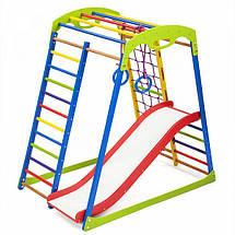 Детский спортивный комплекс для дома SportWood Plus 1, фото 2