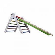 Треугольник пиклера от 2 месяцев - Цвет 65 см с горкой, фото 3