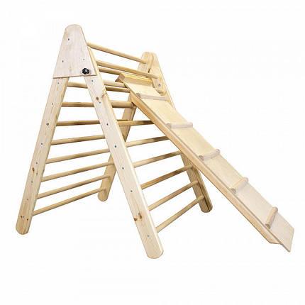 Детский деревянный тренажер пиклера - Лак, фото 2
